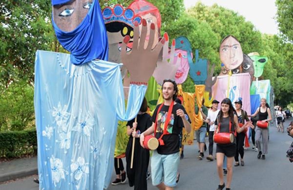 """湖北经济学院举行中德艺术青年交流活动 共绘""""丝绸之路"""""""