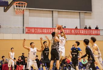 湖北建院男子篮球队第二十届CUBA赛场勇获佳绩